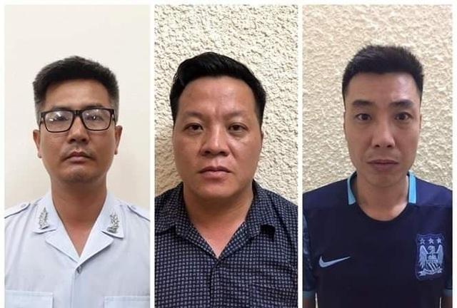 """Hà Nội: Bắt 3 đối tượng giả danh phóng viên """"vòi"""" tiền doanh nghiệp - 1"""