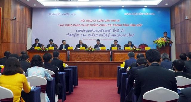 Việt Nam - Lào tổ chức hội thảo xây dựng Đảng và hệ thống chính trị - 1