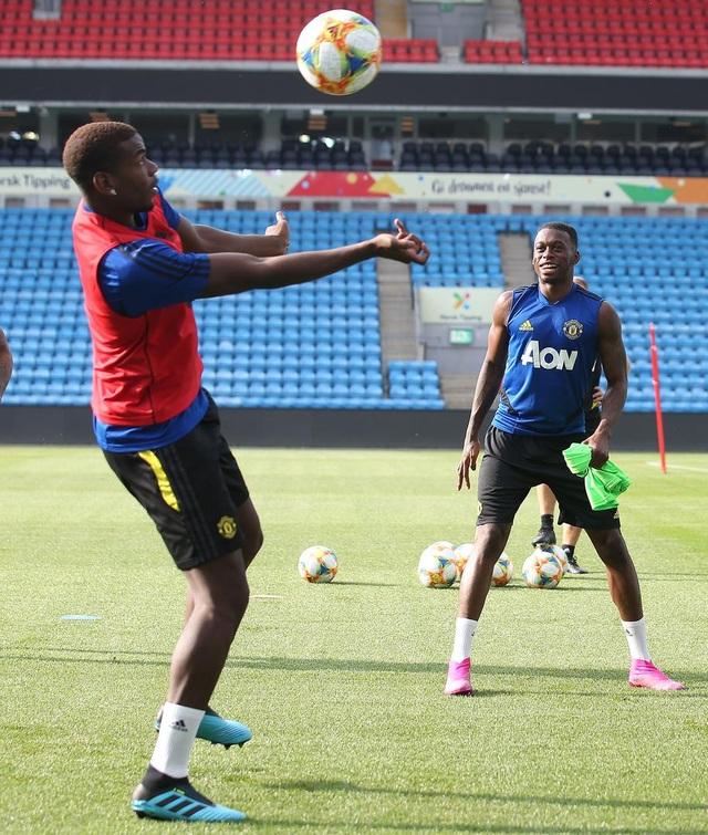 Man Utd luyện công ở Na Uy chờ con trai của Ole Solskjaer - 7