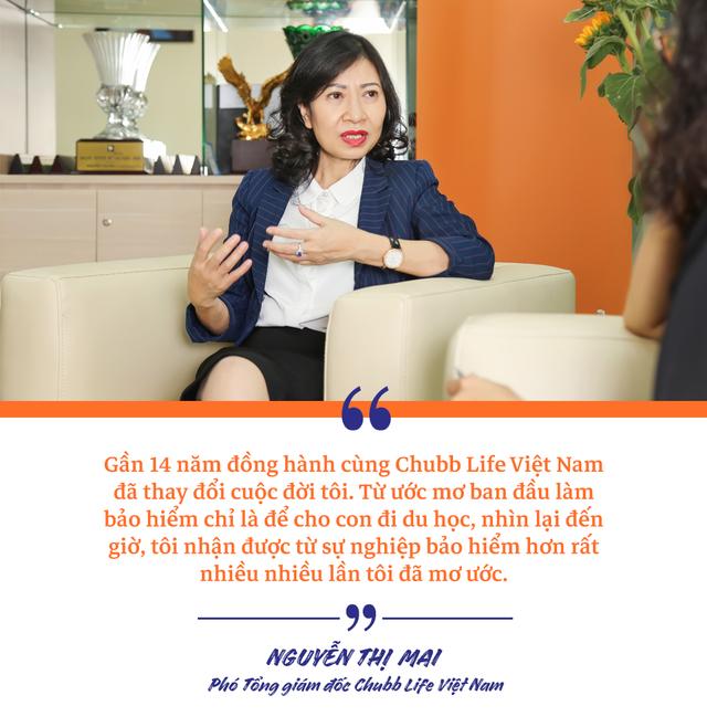 Phó Tổng giám đốc Chubb Life Việt Nam Nguyễn Thị Mai: Chặng đường từ một người tư vấn bảo hiểm tới vị trí Phó Tổng Giám đốc - 5
