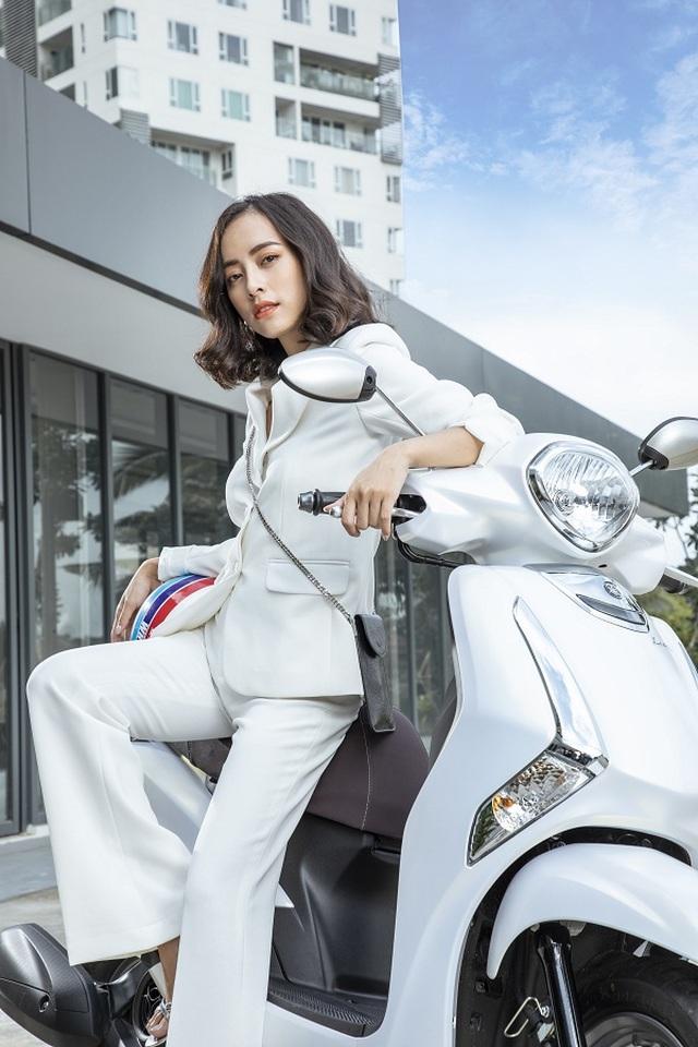 Yamaha Latte mê hoặc phụ nữ hiện đại bởi vẻ sang trọng và sành điệu - 2