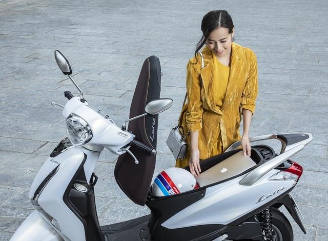 Yamaha Latte mê hoặc phụ nữ hiện đại bởi vẻ sang trọng và sành điệu - 5
