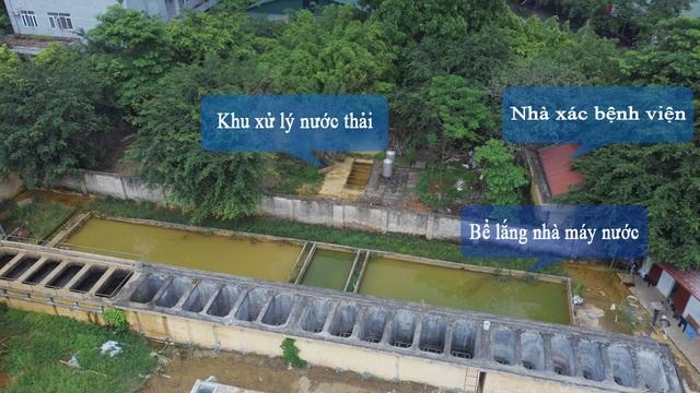 Người dân lo lắng vì nhà máy nước sạch nằm gần nghĩa trang, cạnh nhà xác - 3