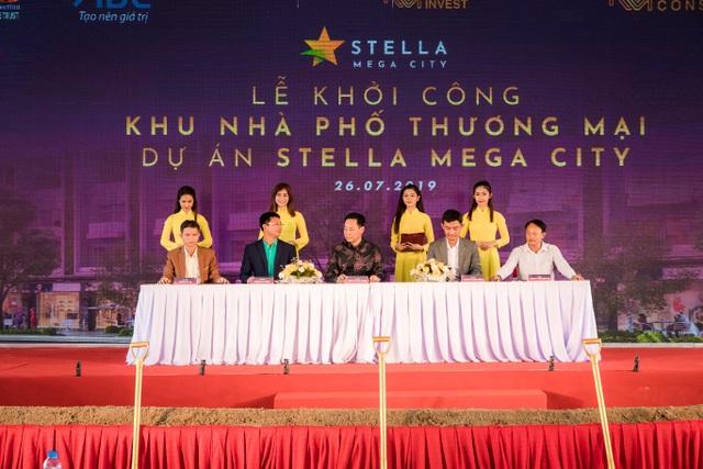Kita Invest chính thức khởi công khu nhà phố thương mại - Dự án Stella Mega City - 2