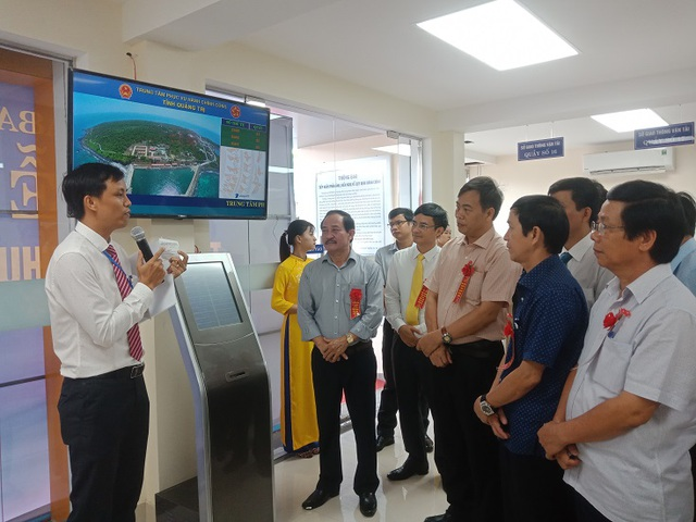 Quảng Trị vận hành trung tâm phục vụ hành chính công - 2
