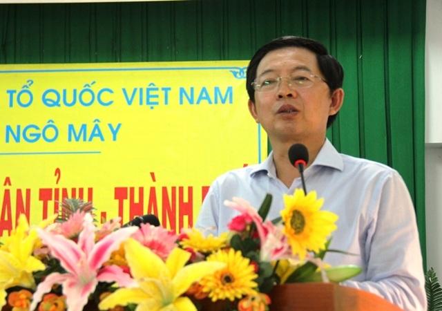 Chủ tịch UBND tỉnh Bình Định Hồ Quốc Dũng chỉ đạo Sở Xây dựng tạm dừng cấp phép xây dựng khách sạn mini.