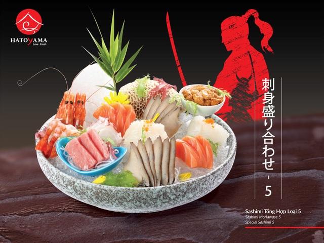 Hé lộ nơi thỏa sức đam mê với ẩm thực Nhật Bản - 1
