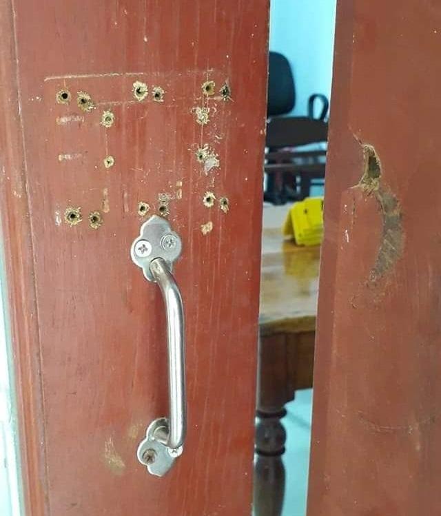 Trộm đột nhập trụ sở xã, khoắng tài sản trị giá gần 100 triệu đồng - 2