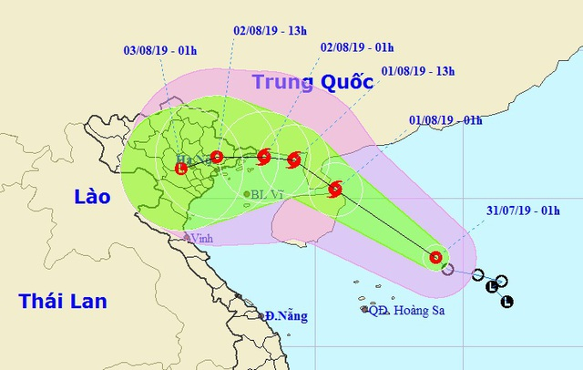 Hôm nay, áp thấp nhiệt đới có khả năng mạnh thành bão với diễn biến phức tạp - 1