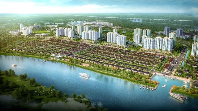 """""""Choáng ngợp"""" với thành phố bên sông Waterpoint - 2"""