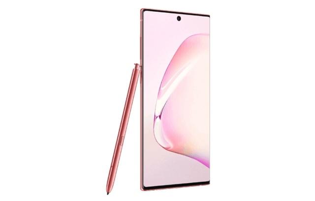 Lộ ảnh chính thức Galaxy Note10 phiên bản màu hồng - 2