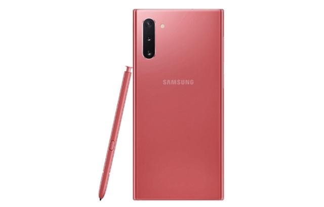 Lộ ảnh chính thức Galaxy Note10 phiên bản màu hồng - 4