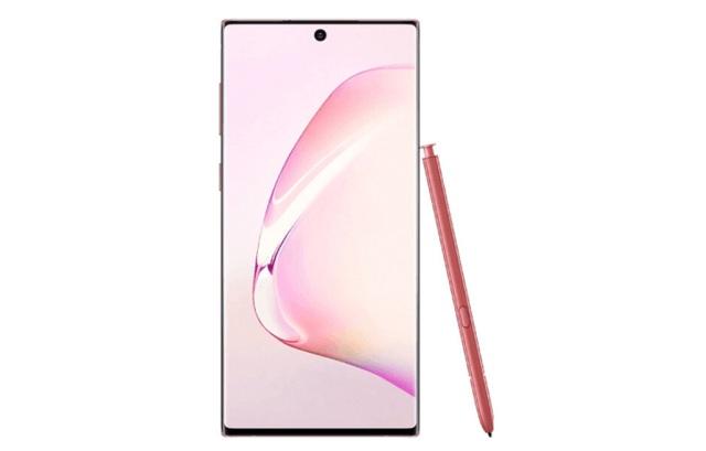 Lộ ảnh chính thức Galaxy Note10 phiên bản màu hồng - 5