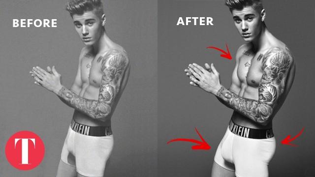 """Chùm ảnh hài hước khi các ngôi sao """"muối mặt"""" vì lỗi Photoshop - 22"""