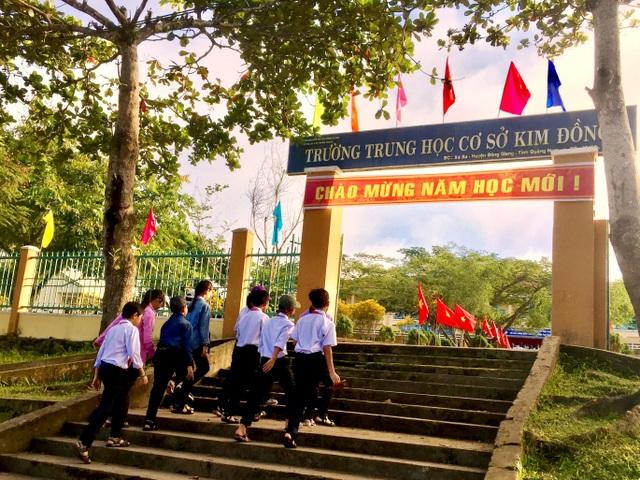Quảng Nam ban hành khung năm học 2019-2019
