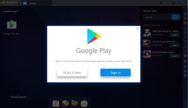 Hướng dẫn chạy các ứng dụng và chơi game Android ngay trên máy tính Windows/Mac - 3
