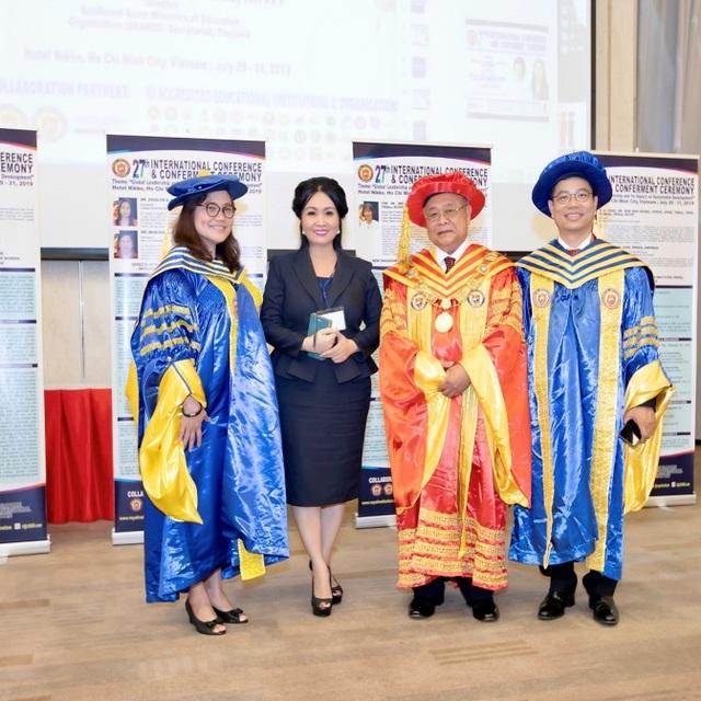 Hàng trăm lãnh đạo cấp cao quốc tế quy tụ tại hội thảo do Royal Institution phối hợp cùng Brian Tracy Training Vietnam tổ chức - 6