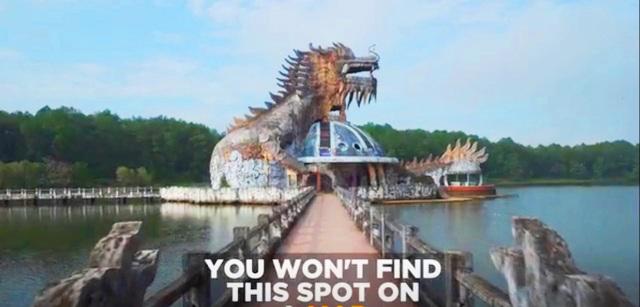 Sửng sốt cảnh công viên nước bỏ hoang ma mị từng lên báo Mỹ bỗng cạn khô trơ cả đáy - 6
