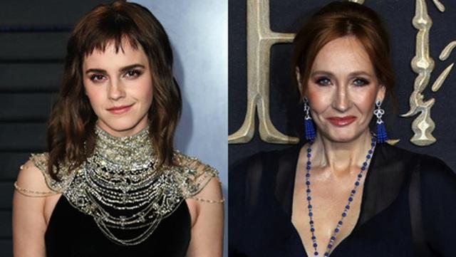 """Emma Watson tưng bừng chúc mừng sinh nhật của """"mẹ đẻ Harry Potter"""" - 1"""