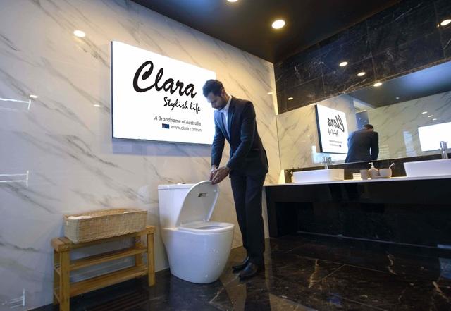 Trải nghiệm sự sang trọng và đẳng cấp của thiết bị vệ sinh cao cấp Clara cùng Chad Winston - 3