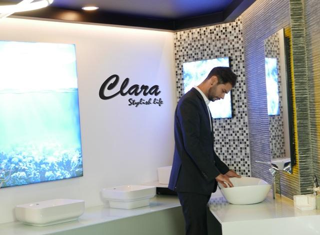 Trải nghiệm sự sang trọng và đẳng cấp của thiết bị vệ sinh cao cấp Clara cùng Chad Winston - 6