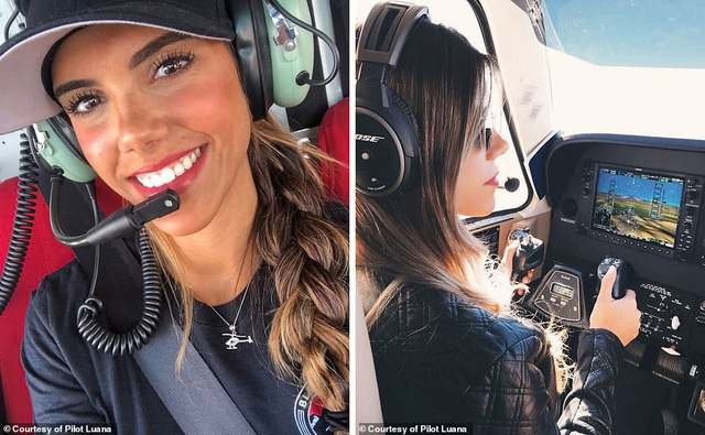 Hình ảnh ngoạn mục từ buồng lái của nữ phi công xinh đẹp 29 tuổi - 1