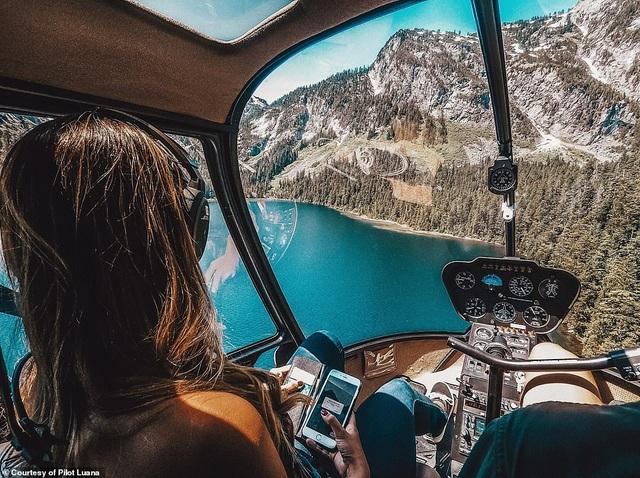 Hình ảnh ngoạn mục từ buồng lái của nữ phi công xinh đẹp 29 tuổi - 3