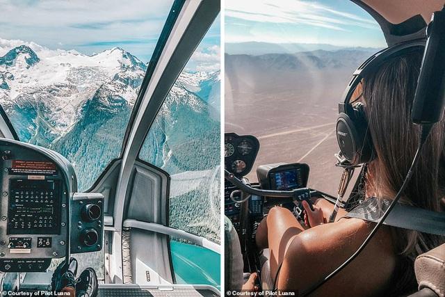 Hình ảnh ngoạn mục từ buồng lái của nữ phi công xinh đẹp 29 tuổi - 7