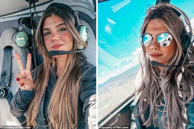 Hình ảnh ngoạn mục từ buồng lái của nữ phi công xinh đẹp 29 tuổi - 8