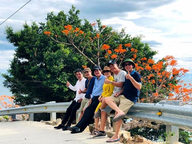 Check-in hoa ngô đồng ở Cù Lao Chàm