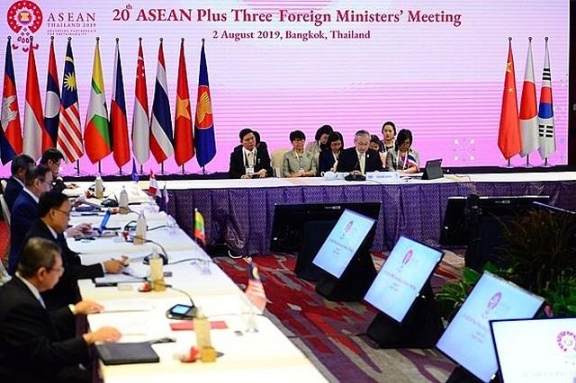 Phó Thủ tướng Phạm Bình Minh dự Hội nghị ASEAN và Trung Quốc, Nhật Bản, Hàn Quốc - 1