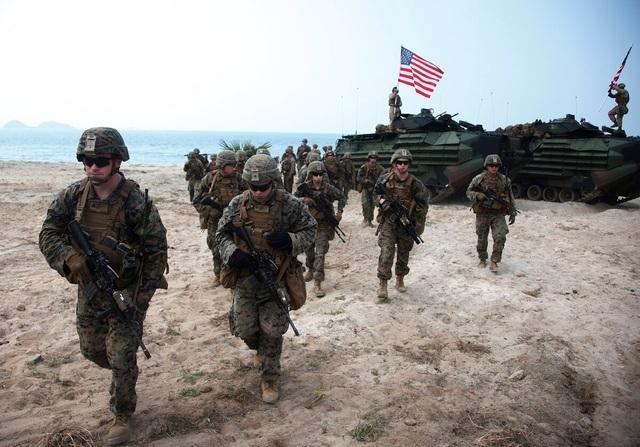 Lục quân Mỹ tập trận tại Thái Bình Dương với chủ đề Biển Đông - 1
