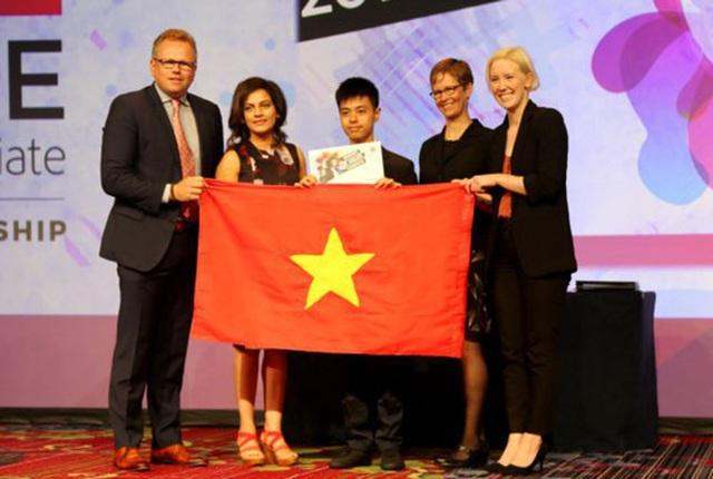 Nam sinh Việt giành giải cuộc thi thiết kế đồ họa thế giới tại Mỹ - 1