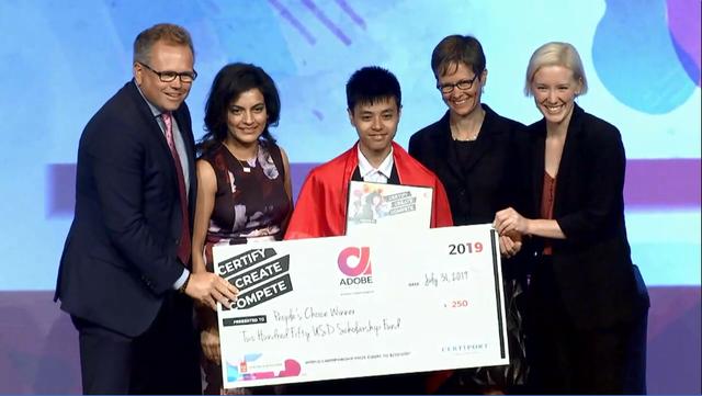 Nam sinh Việt giành giải cuộc thi thiết kế đồ họa thế giới tại Mỹ - 2