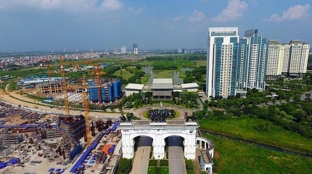 """Khu đô thị quốc tế lớn nhất ở Hà Nội, ôm đất hơn 20 năm vẫn để """"treo"""" - 3"""
