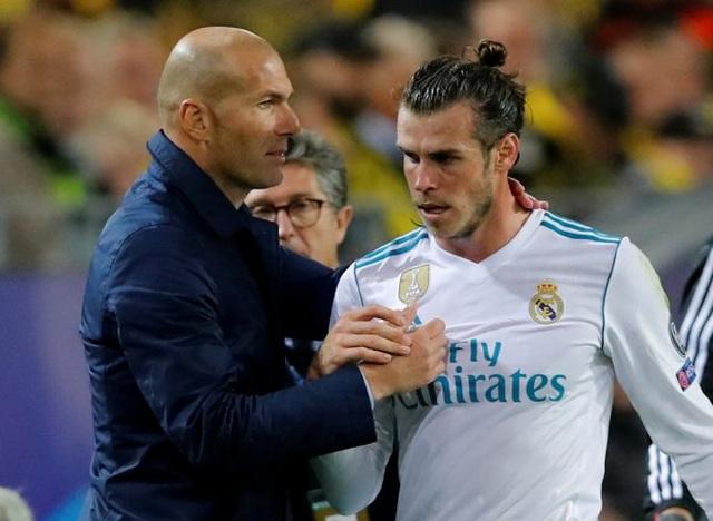 HLV Zidane ra đòn trừng phạt nặng nề Gareth Bale