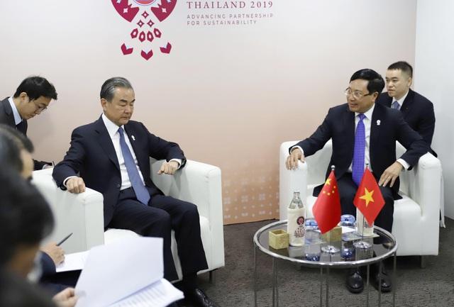 Phó Thủ tướng khẳng định lập trường Biển Đông của Việt Nam với Ngoại trưởng Trung Quốc - 2