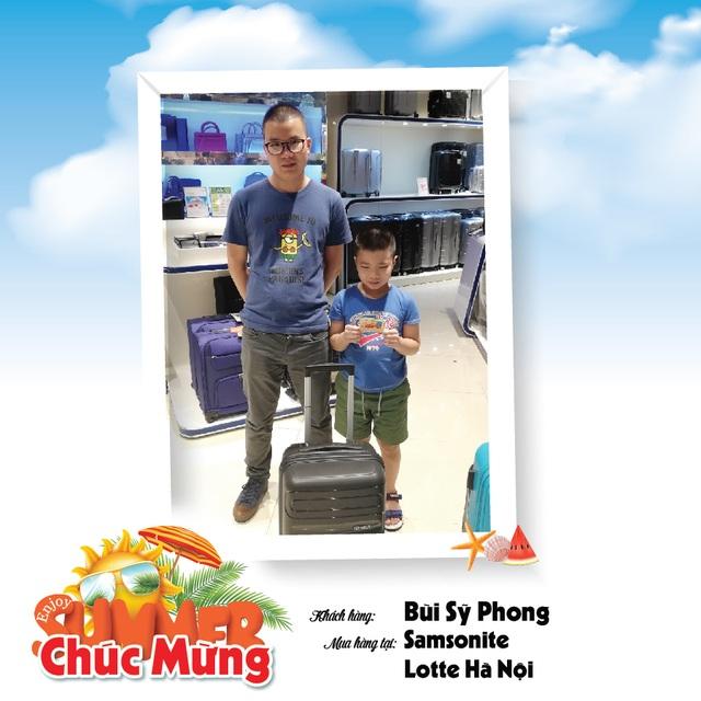 Samsonite ưu đãi hè 2019 tại Việt Nam - 2