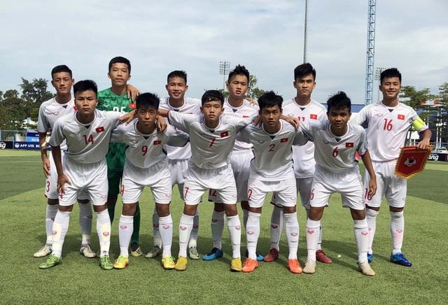 U15 Việt Nam thắng đậm Myanmar tại giải U15 Đông Nam Á 2019 - 1