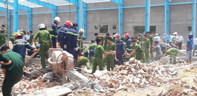Nhiều sai phạm trong vụ sập tường khiến 7 người chết - 1