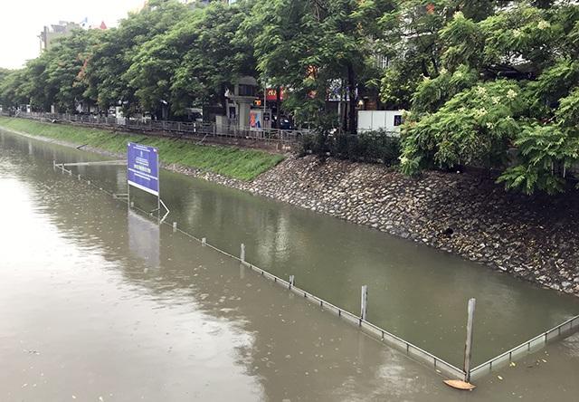 Khu thí nghiệm công nghệ Nhật làm sạch sông Tô Lịch lại chìm trong nước - 2