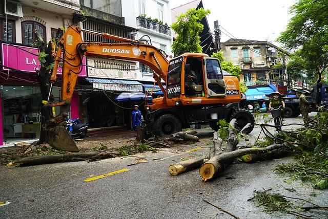 Hải Phòng:  Phố phường ngổn ngang sau bão số 3 - 9