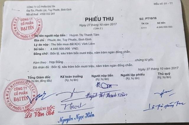 Bất ngờ vụ chủ đầu tư ở Bình Định bị tố cùng một lô đất bán cho nhiều người - 3