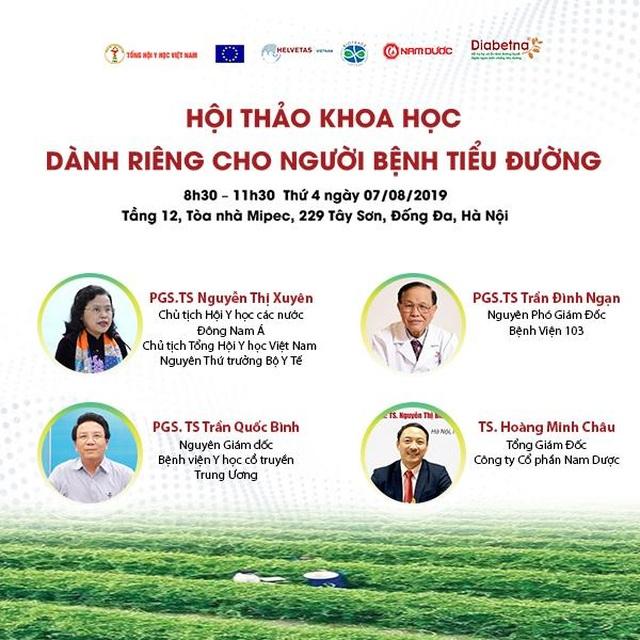 Tổng hội Y học Việt Nam tổ chức hội thảo khoa học dành riêng cho người bệnh tiểu đường - 1