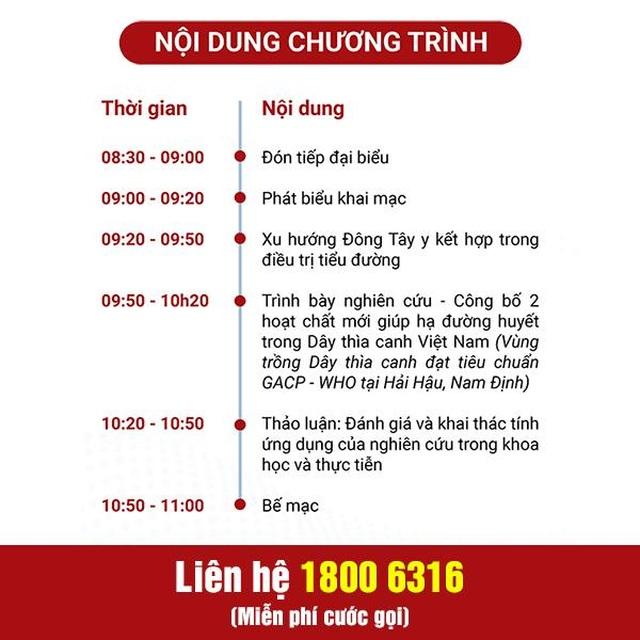 Tổng hội Y học Việt Nam tổ chức hội thảo khoa học dành riêng cho người bệnh tiểu đường - 3