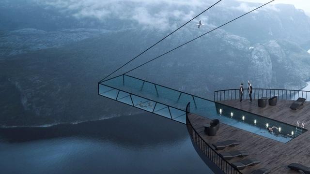 Chóng mặt với khách sạn cao hơn 600 mét trên mặt biển - 2