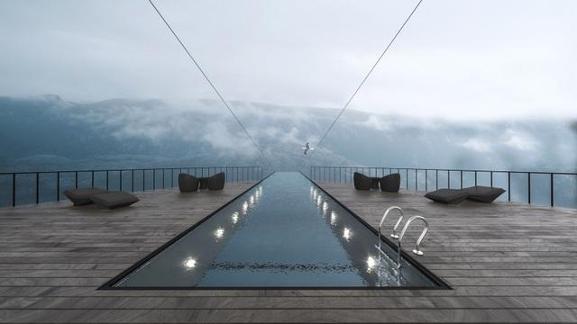 Chóng mặt với khách sạn cao hơn 600 mét trên mặt biển - 3