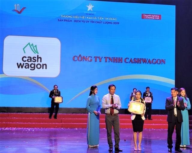 Cashwagon Top 10 Thương hiệu Việt Nam Tin Dùng - Sản phẩm, Dịch vụ Uy tín Chất lượng 2019 - 1
