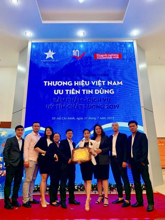 Cashwagon Top 10 Thương hiệu Việt Nam Tin Dùng - Sản phẩm, Dịch vụ Uy tín Chất lượng 2019 - 3