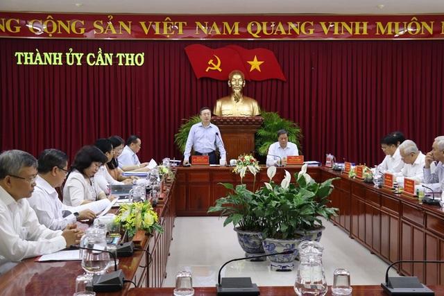 Bộ Chính trị triển khai quyết định kiểm tra tại Cần Thơ - 1